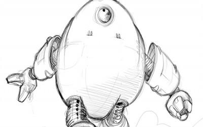 Recherche Robot – Golem mécanique
