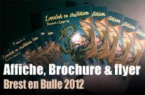 Brest en bulle 2012 (Brochure 12p+flyer)